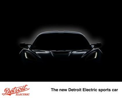The new Detroit Electric sports car