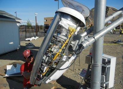solar gas reactor