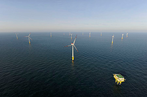 siemens offshore wind project