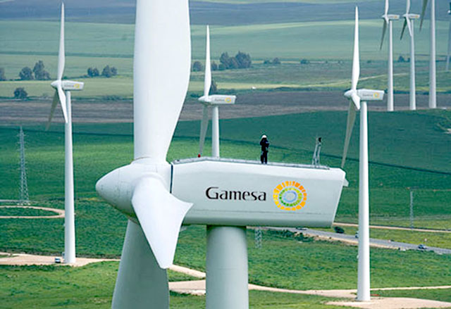 Gamesa wind energy