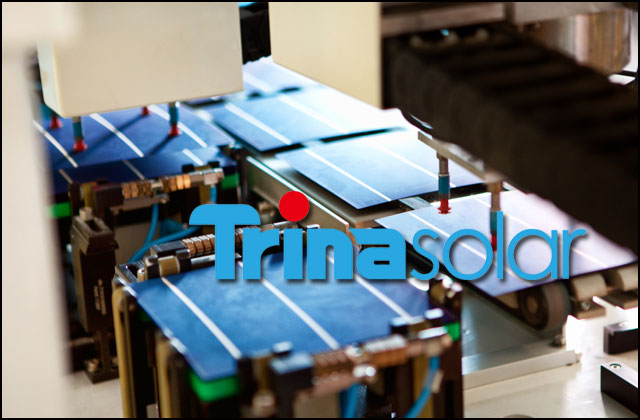 Trina sets module efficiency record