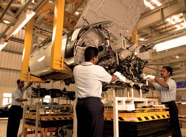 BMW Chennai plant solar power