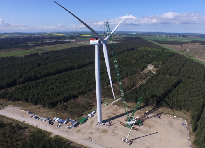 Siemens offshore wind turbine SWT-7.0-154