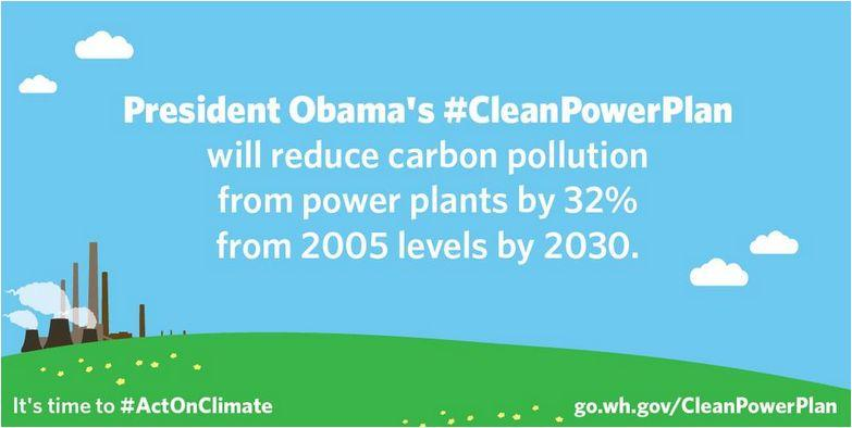 Clean power plan from Obama