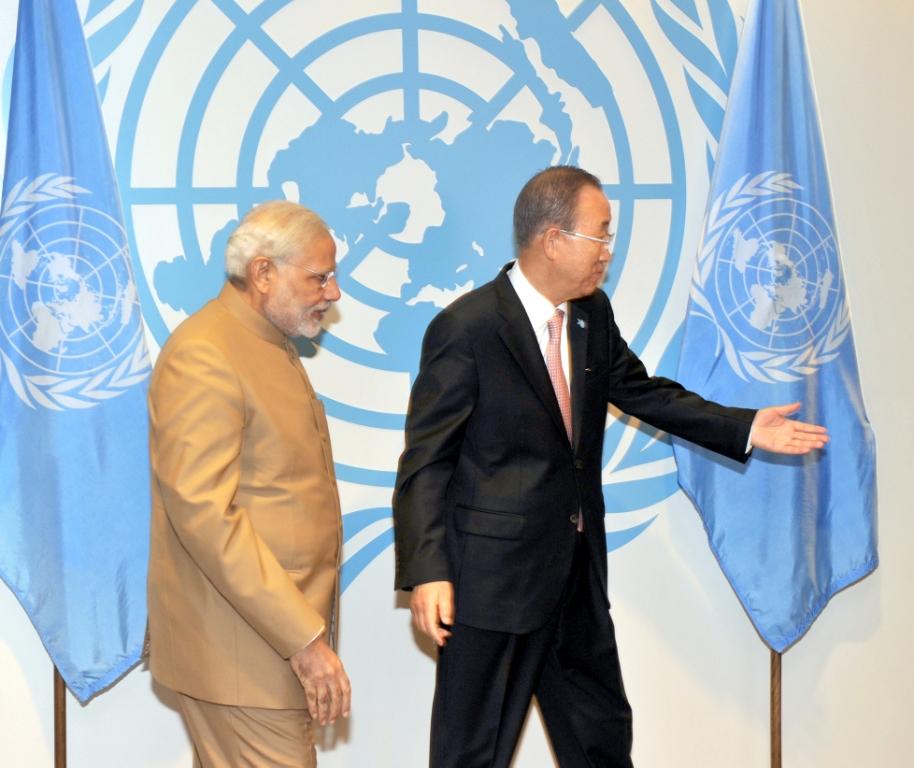 PM Modi and Ban