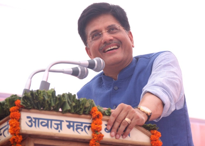 Piyush Goyal, Minister of State for Power, Coal and New and Renewable Energy