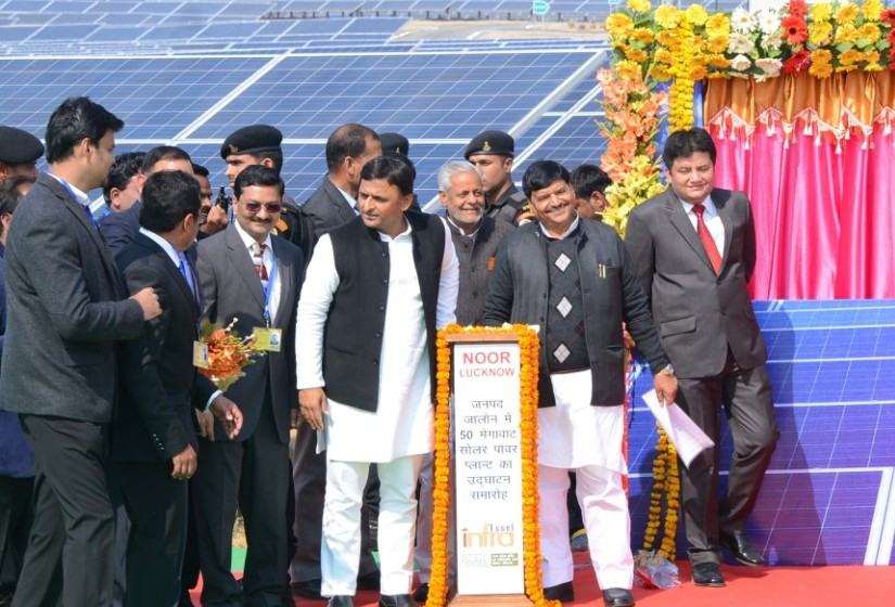 Essel Infra inaugurating 50 Mw solar power plant at Jalaun district