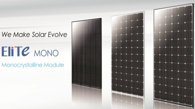 ET Solar Launches EliTe Mono Module Globally