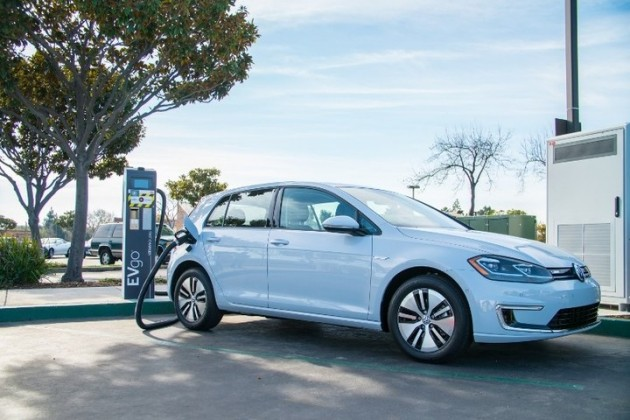 EVgo's High-Power fast charging station in Fremont, California