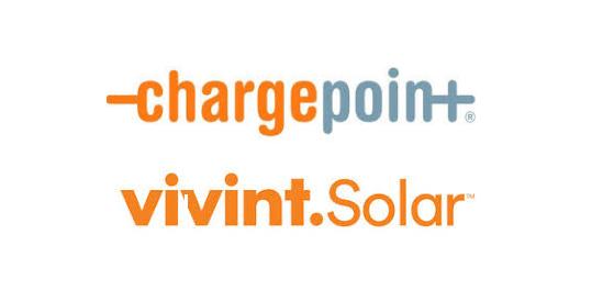 chargepoint vivint solar partnership