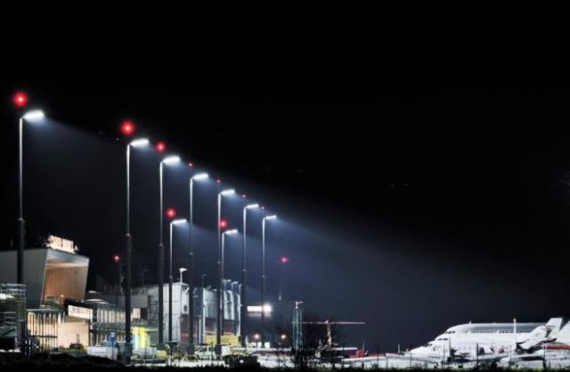 LED light at airports