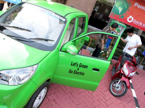 Green vehicle Middle East
