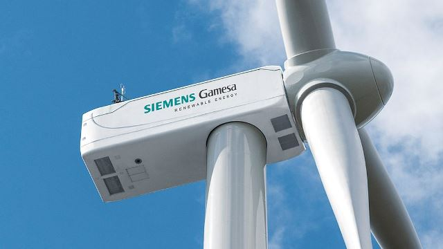 Siemens Gamesa SG 3.4-132 model wind turbine