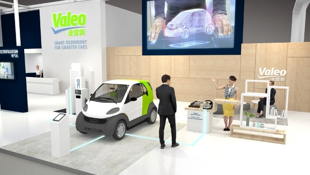 Valeo at 2019 Shanghai International Auto Show