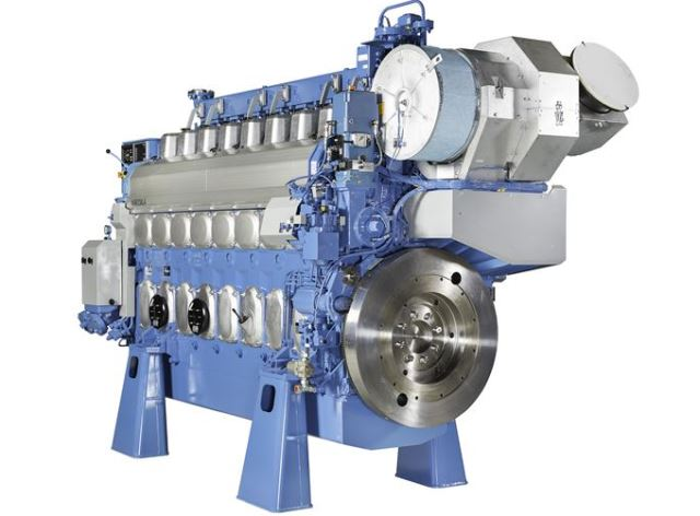 Wartsila 20DF engine for LNG vessel applications