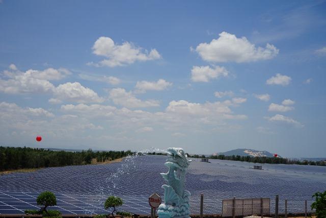 MUI NE solar plant in Vietnam