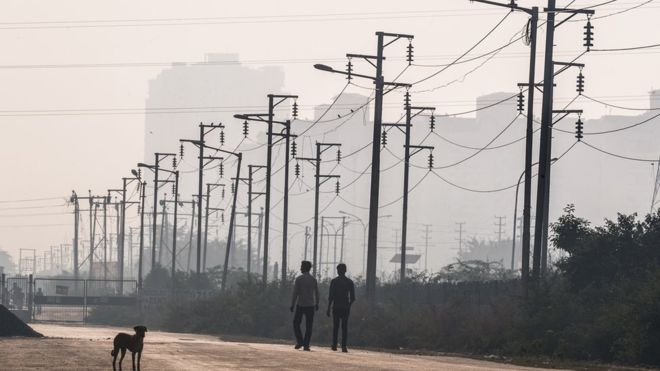 india electric grid