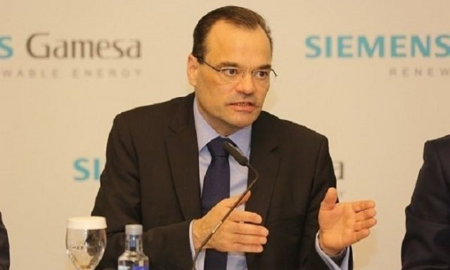 Siemens Gamesa CEO Markus Tacke