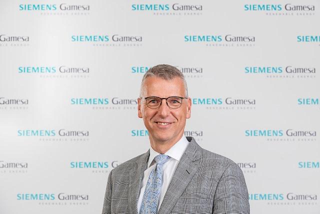 Siemens Gamesa CEO Andreas Nauen