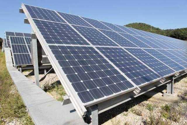 Rewa solar plant in India
