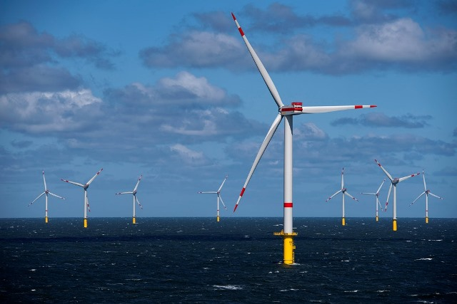 Trianel Windpark Borkum II, in Germany