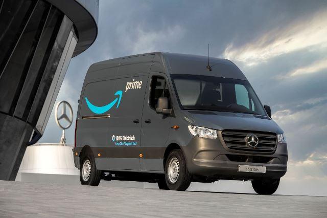 Electric vehicle for Amazon