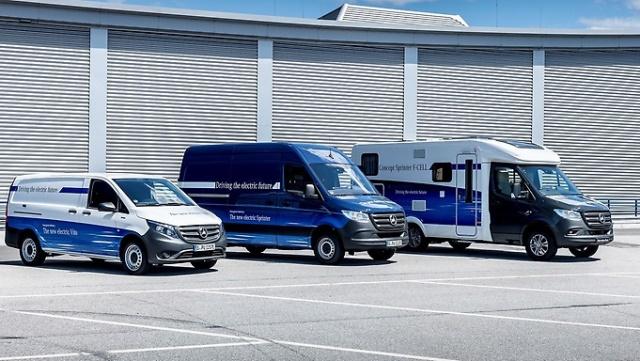 electric vans from Mercedes-Benz