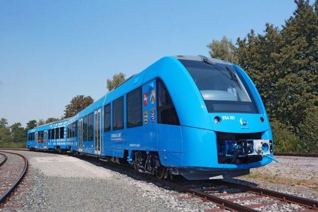 Hydrogen-powered train in Germany