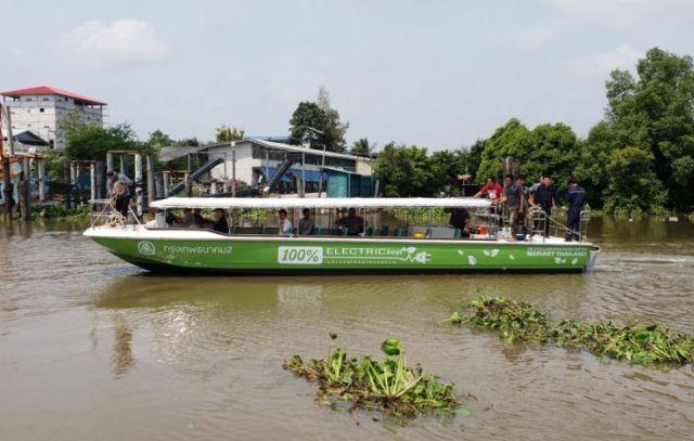 Bangkok electric ferries