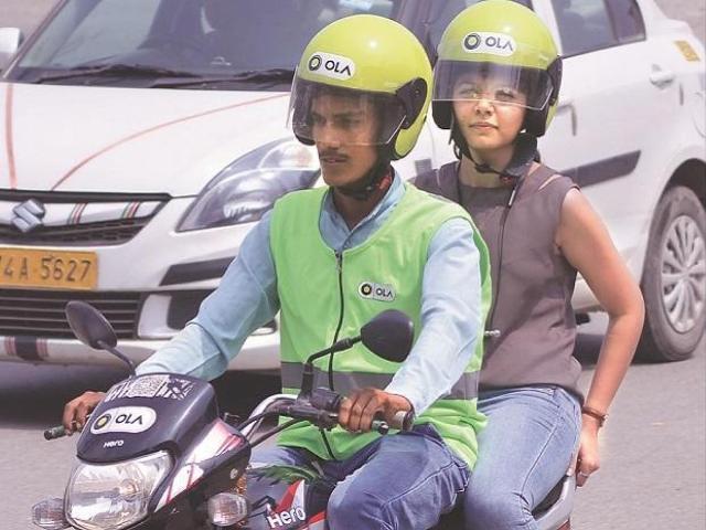 Ola e-scooter