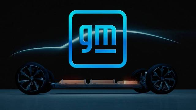 GM new logo reflects EV business