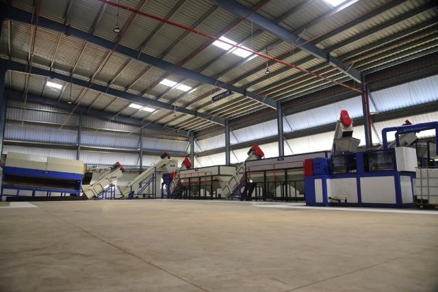 Ramky Enviro plastic recycling facility
