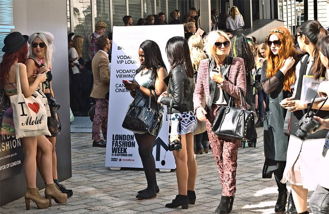 London Fashion Week and recycling