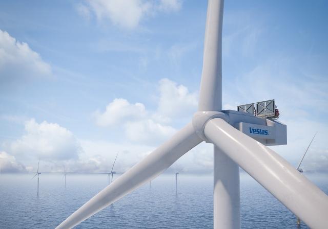 Vestas offshore wind turbine
