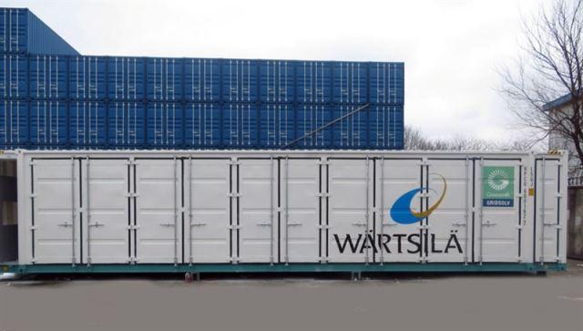 Wartsila energy storage system