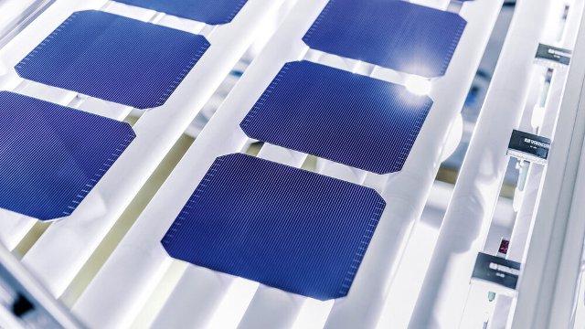 Meyer Burger solar cells