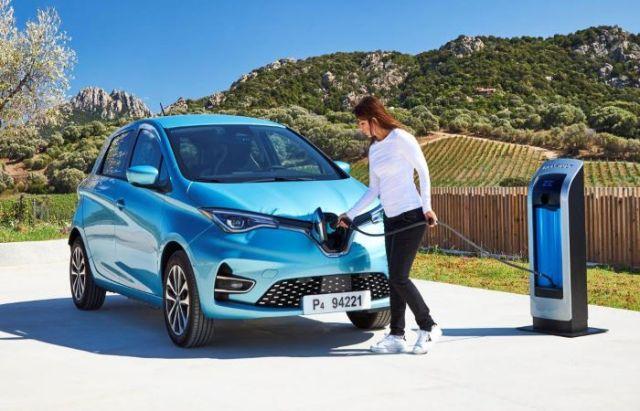 Renault electric vehicle