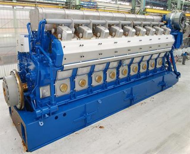 Wartsila 50DF dual-fuel engines