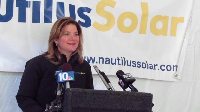 Laura E. Stern, co-CEO of Nautilus