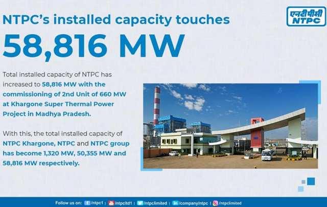 NTPC power business
