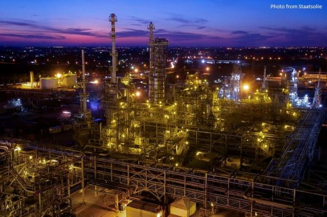 Staatsolie refinery