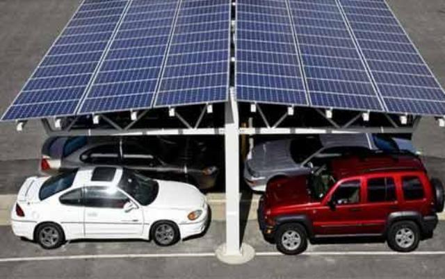 Tata Motors solar carport