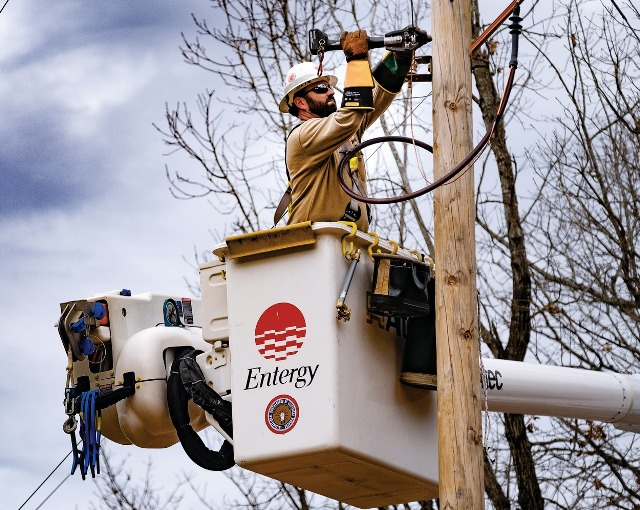 Entergy power lines