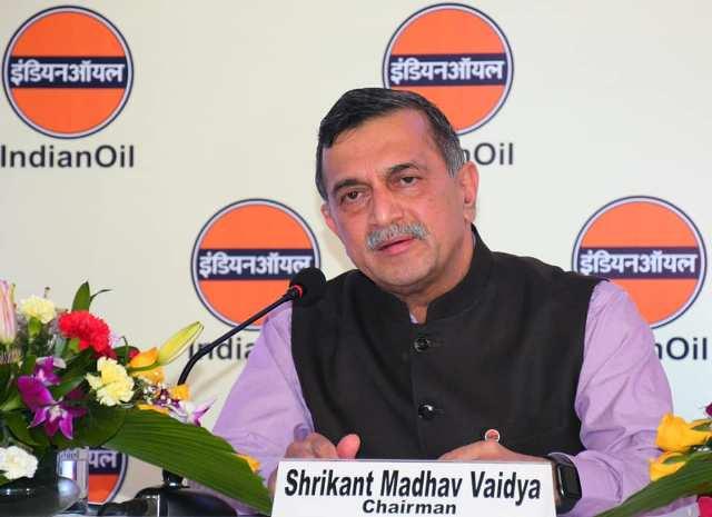 Indian Oil Chairman Shrikant Madhav Vaidya